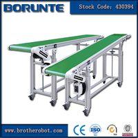 China plastic injection molding conveyor belt system
