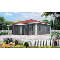 Modern design easy to assembling low cost prefab ahouses