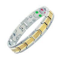 Bio Tourmaline Silver Gold Steel Tanishq Bold Bracelet Designs