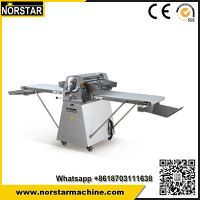 Good quality croissant machinery dough sheeter pressing