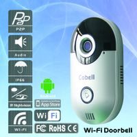 Wireless 3G 4G Wifi Video Doorphone Cobell with WiFi IP Camera for Smart Home System Support Waterpr