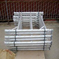 Scaffold guard rail