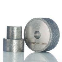 Electroplated CBN grinding wheel thumbnail image