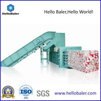 Semi-Auto Waste Paper Baling Machine with 70T Pressing Force