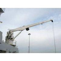 Marine electric hydraulic deck crane