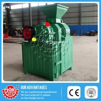 Adjustable rotating speed High-efficiency charcoal briquetting machine