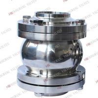 Stainless Steel Sanitary Food Grade 3PC Flanged Check Valve thumbnail image