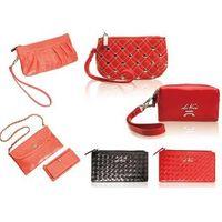 Genuine leather handbag fabric wallets, canvas handbag, cotton handbag, leather wallets , pu handba