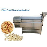 Automatic Fried Peanuts Snack Food Flavoring Machine| Chips Spice Blending Mixing Mixer Machine
