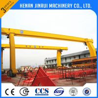 2016 NEW ! High quality heavy duty wireless remote gantry crane price with CE ISO certificate