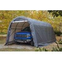 Arch Top Style Shelter Portable Carport 12'x20'
