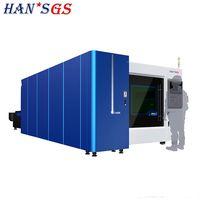 500W Wuhan Stainless Steel Plate Fiber Laser Cutting Machine