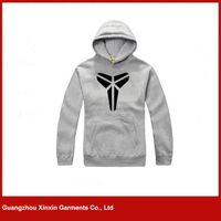 2016 Fashion Hoody Jacket,Grey Hoody Men Custom,100% cotton Fleece Man Hoody