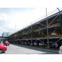 Made in China steel structure car parking for the hospital