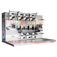 adhesive label rotary die cutting machine