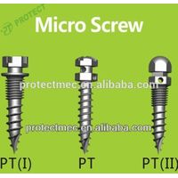 mini screw implants Orthodontic micro screws