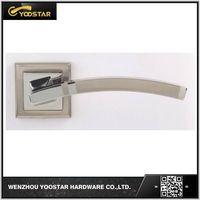 Wenzou hot sale aluminum door handle with rose thumbnail image