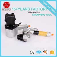 KZLY-32G high tension pneumatic bundle with steel strips packing