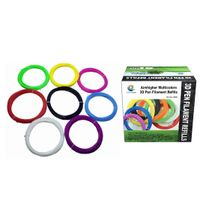 ABS 8pcs Color Box Pack 3D Pen Filament ,1.75mm