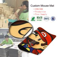 Super Mario Bros net bar custom waterproof gaming mouse pad