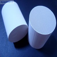honeycomb ceramic for heat exchanger support