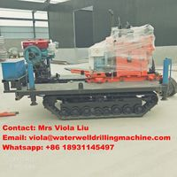 200m Depth Water Well Drilling Rig for Core Sampling