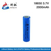 Wholesale hottest and cheapest rechargeable li ion18650 3.7v 2200mah battery for e-cig
