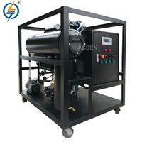 ZY Portable Vacuum Transformer Oil Purification Plant
