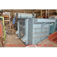 "USED ""KOBELCO"" 920MMX2440MM TDML (3' X 8') HORIZONTAL TYPE VIBRATING SCREEN (3 DECKS) S/NO. DB 11094 thumbnail image"