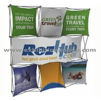 collage pop up display stand