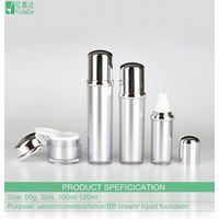 Acrylic cosmetic packaging bottle 30ml 100ml 120ml acrylic eye cream bottles thumbnail image