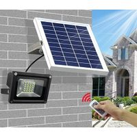 Solar LED Flood Garden Light with Remote Controller thumbnail image