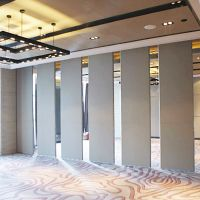 Commercial Office Sliding Aluminium Track Movable Partition Wall