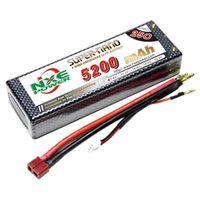 5200mAh 7.4V 2S 2P 25C Lipo battery for RC Car