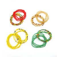 Summer Jewelry Waist Bead Set Colorful Waist Belly African Waist Bead Body Chain Beaded Belly Chain thumbnail image