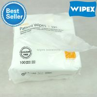economic disposable non wove spunlace medical care and patient wipes