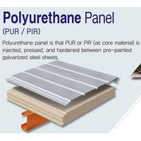 Urethane Panel(PIR,PUR) - Sandwich Panel