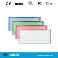 300*1200*12mm white/Warm white or RGB color dimmable LED panel thumbnail image