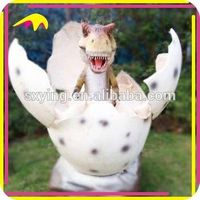 KANO2052 Attractive Artificial Fiberglass Dinosaur Egg For Sale