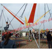 Portable Bungee Trampoline Mobile Bungy Bouncer thumbnail image