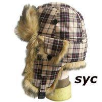 Fashion Faux Fur Aviator Style Winter Hat