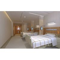 ICU curtain with disposable, hospital antibacterial curtain