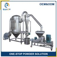 Chemical powder crusher machine Ultra-fine powder vibration pulverizer Pulse dust