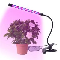 9W LED 1 Head Long Strip Grow Plant Grow Lights for Indoor Greenhouse Plants Clip Lamp thumbnail image