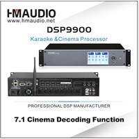 DSP9900 home theater 7.1 decoder with wireless support dolby+dolby dts decoder