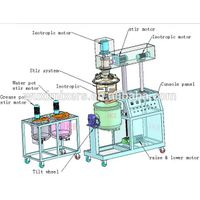 150 Litre Vacuum Emulsifying Homogenizer Mixer Peanut Butter Making Machine