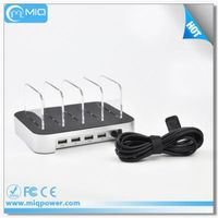 factory sale 4 port usb wall charger with CE Rohs for UK and US thumbnail image