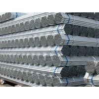 Ss400 Carbon Pregalvanized Round Steel Pipe for Building Material