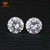 Supply of high-quality star cut cubic zirconia white cz stone