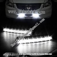 LED daytime running light for auto